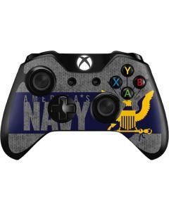 US Navy Grey Xbox One Controller Skin