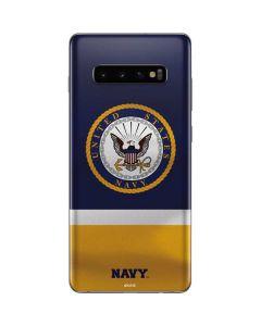 US Navy Striped Galaxy S10 Plus Skin