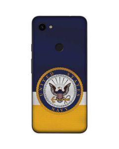 US Navy Striped Google Pixel 3a Skin