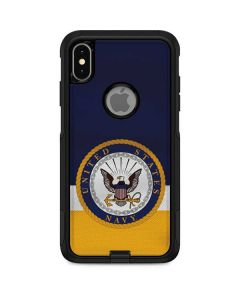 US Navy Striped Otterbox Commuter iPhone Skin