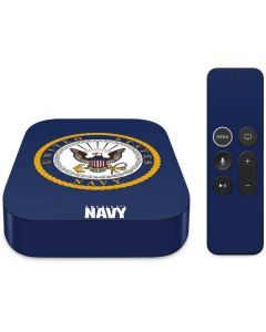 US Navy Symbol Apple TV Skin