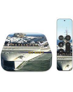 US Navy USS Constellation Apple TV Skin