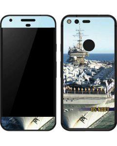 US Navy USS Constellation Google Pixel Skin