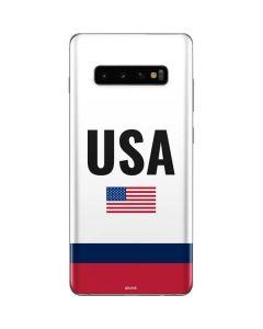 USA American Flag Galaxy S10 Plus Skin