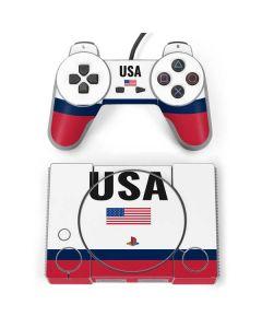 USA American Flag PlayStation Classic Bundle Skin
