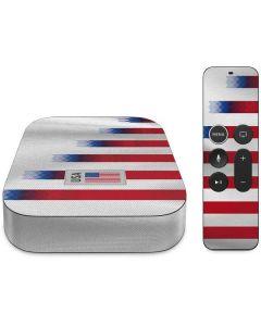 USA Soccer Flag Apple TV Skin