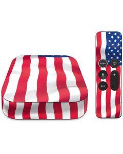 USA Flag Apple TV Skin