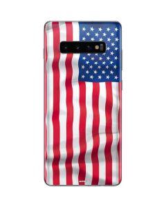 USA Flag Galaxy S10 Plus Skin