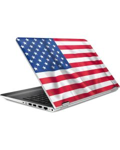 USA Flag HP Pavilion Skin