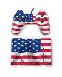 USA Flag PlayStation Classic Bundle Skin