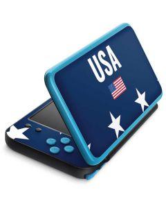 USA Flag Stars 2DS XL (2017) Skin