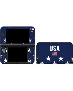 USA Flag Stars 3DS XL 2015 Skin