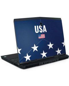 USA Flag Stars Dell Alienware Skin