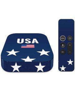 USA Flag Stars Apple TV Skin