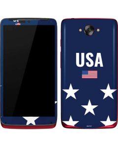 USA Flag Stars Motorola Droid Skin