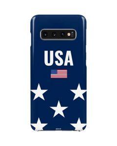 USA Flag Stars Galaxy S10 Lite Case
