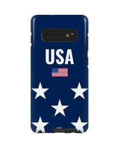 USA Flag Stars Galaxy S10 Plus Pro Case