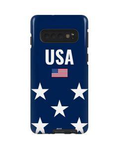 USA Flag Stars Galaxy S10 Pro Case
