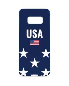 USA Flag Stars Galaxy S8 Plus Lite Case
