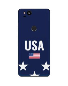 USA Flag Stars Google Pixel 2 Skin