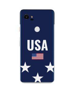 USA Flag Stars Google Pixel 2 XL Skin
