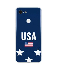 USA Flag Stars Google Pixel 3 Skin
