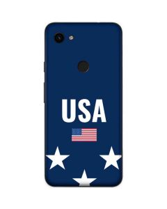 USA Flag Stars Google Pixel 3a Skin