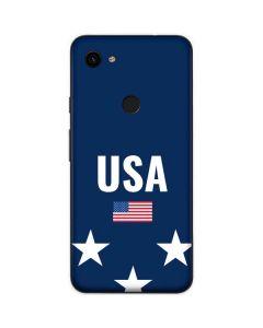 USA Flag Stars Google Pixel 3a XL Skin