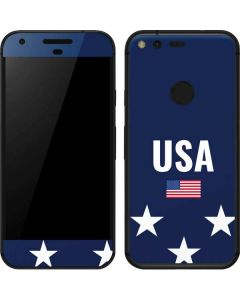 USA Flag Stars Google Pixel Skin