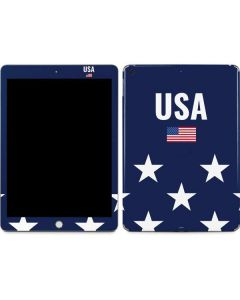 USA Flag Stars Apple iPad Skin