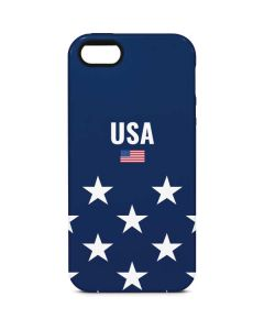 USA Flag Stars iPhone 5/5s/SE Pro Case