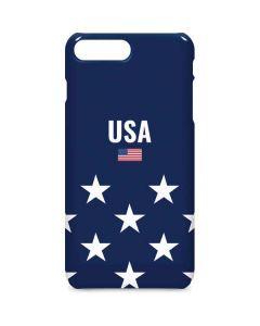 USA Flag Stars iPhone 8 Plus Lite Case