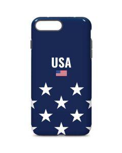 USA Flag Stars iPhone 8 Plus Pro Case