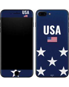 USA Flag Stars iPhone 8 Plus Skin