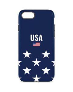 USA Flag Stars iPhone 8 Pro Case