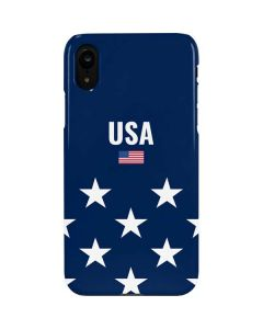 USA Flag Stars iPhone XR Lite Case
