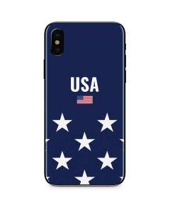 USA Flag Stars iPhone XS Max Skin