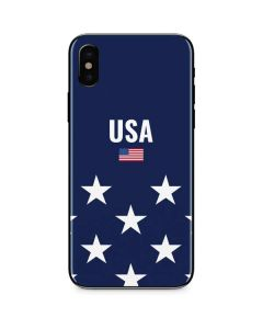 USA Flag Stars iPhone XS Skin