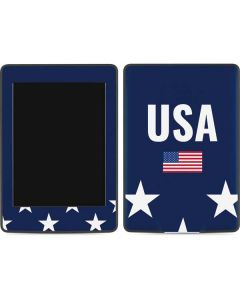 USA Flag Stars Amazon Kindle Skin