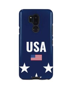 USA Flag Stars LG G7 ThinQ Pro Case