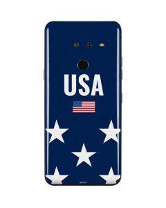 USA Flag Stars LG G8 ThinQ Skin