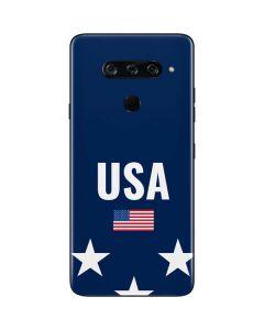 USA Flag Stars LG V40 ThinQ Skin