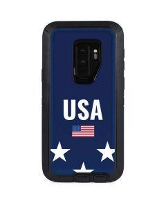 USA Flag Stars Otterbox Defender Galaxy Skin