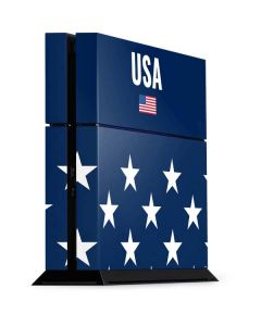 USA Flag Stars PS4 Console Skin