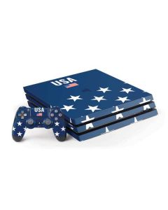 USA Flag Stars PS4 Pro Bundle Skin