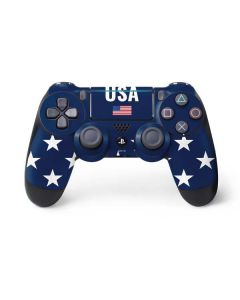 USA Flag Stars PS4 Pro/Slim Controller Skin