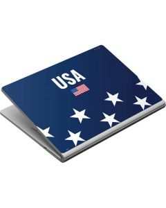 USA Flag Stars Surface Book Skin