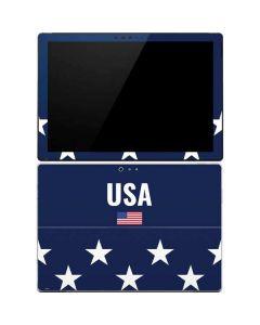 USA Flag Stars Surface Pro 4 Skin