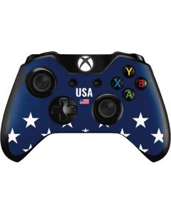 USA Flag Stars Xbox One Controller Skin