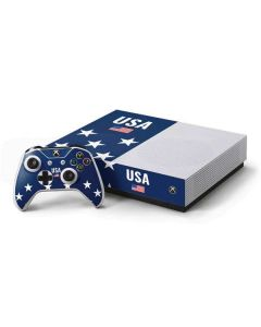 USA Flag Stars Xbox One S All-Digital Edition Bundle Skin
